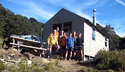 Mt Fell Hut Lawrie Halkett